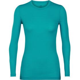 Icebreaker Sprite LS Crewe Shirt Women Arctic Teal